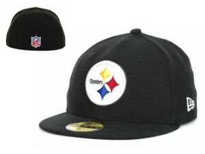 NWT Pittsburgh Steelers New Era NFL On field 59Fifty 6 5/8  Youth Hat Cap GD
