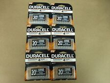48 X Duracell 312 Hearing Aid Batteries 6 Packs of 8 Expire 2019
