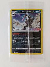 Pokemon Sword & Shield Promo Card Galarian Obstagoon 119/202 Holo Sealed New