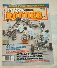 Street Rodder Magazine March 1982