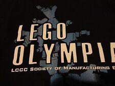 LEGO Engineer OLYMPICS Olympic Building Contest OLYMPIAD Event T Shirt sz Medium