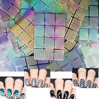 12 Tips/Sheet Nail Art Manicure Stencil Stickers Nails Stamping Vinyl Decals Kit