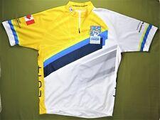 Sugoi Mens Cycling Jersey Bike Canada Bc Cancer Foundation 2014 Maple Leaf Euc