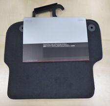 Original Audi A6 4F Textilfußmatten Premium hinten 2 Stück 4F0863683D 9AM