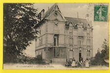 cpa FRANCE 72 - CHAMPAGNÉ (Sarthe) Château de REVEILLON Enfant Voiture à Pédale