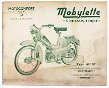 Catalogue vers 1965  MOTOCONFORT - MOBYLETTE Type AU 87