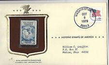Byrd Antarctic Expedition Historical Stamps of America Sealed in Envelope 1979