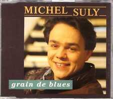 Michel Suly - Grain De Blues - CDM - 1992 - Chanson 3TR Sacrée Soirée