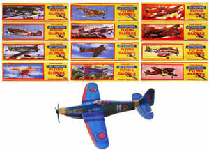 12 Jet Fighter Plane Gliders - Pinata Toy Loot/Party Bag Fillers Childrens/Kids