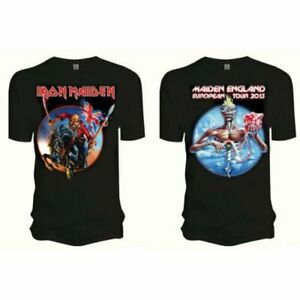 ** Iron Maiden Trooper Seventh Son Maiden England 2013 Tour T-shirt Official **