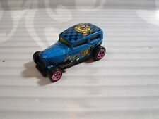 2018 HOT WHEELS  loose = MIDNIGHT OTTO = BLUE  p5sp  , MYSTERY CAR