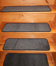13 Step 10'' x 30''+ Landing 30'' x 30'' In/Outdoor Stair Treads Non-Slip Vinyl.
