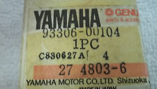 Yamaha OEM New bearing 93306-00104 Big Wheel BW80 YZ80 Riva Snoscoot  #6086