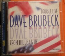 The Dave Brubeck Quartet ‎– Double Live From The U.S.A. And U.K. 2XCD