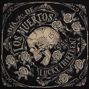 Lucky 13 Dead Skull Los Muertos Bandana Rockabilly Tattoo Punk Retro Kustom