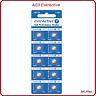 Piles boutons alcaline AG3/AG4/AG10/AG13 1.5V, CR2032/2025/2016 3V Everactive