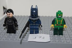 LEGO SUPER HERO Minifigures Batman in wesuit Hydra Henchman Superman j73 GENUINE