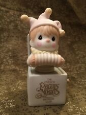 Enesco Precious Moments Jest To Let You Know You're Tops B0006 Figurine