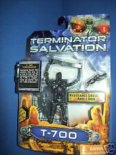 "TERMINATOR SALVATION ACTION FIGURE 5"":  T-700 Robot MOC NEW"