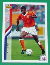FOOTBALL CARD UPPER DECK 1994 USA 94 BRIAN ROY NEDERLAND PAYS-BAS KNVB