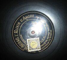 Disco primi '900 - 100 Giri Pathè in Bachelite - ELIXIR D'AMOR
