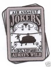 "B-CO 3-227th AHB ""JOKERS ALWAYS WILD"" #4 patch"