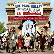 CD Les Plus Belles Chansons de la Libération