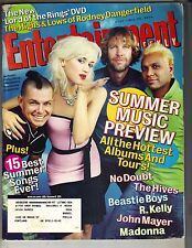 GWEN STEFANI NO DOUBT Entertainment Weekly Mag 5/28/04 HIVES RODNEY DANGERFIELD