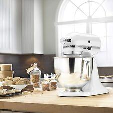 Brand NEW KitchenAid White Artisan 5-Quart Tilt-Head Stand Mixer KSM150PSWH