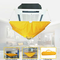 Air Conditioner Cover Cleaning Protector Washing Bag Waterproof Home Clean Tool