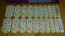 Jamberry Nail Wraps ~ Sweet Talk ~ Retired Full Sheet ~ Valentine'S Day Holiday