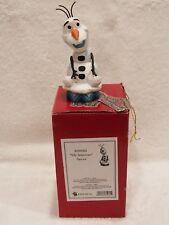 Jim Shore Disney Frozen Olaf Silly Snowman Figurine #4039083-Nib
