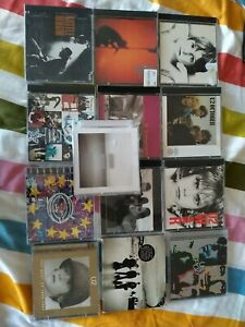 LOT DE 13 CD U2 ALBUMS POP ROCK WAR BOY ZOOROPA RATTLE AND HUM ACHTUNG BABY +++