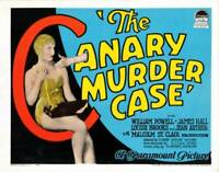 OLD MOVIE PHOTO The Canary Murder Case Lobby Card Us Poster Louise Brooks 1929