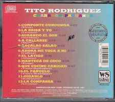 Mega RARE cd SALSA Tito Rodriguez CHARANGA PACHANGA manteca de coco SOBANDO SON