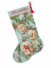 Cross Stitch Kit Gold Collection Enchanted Ornaments Christmas Stocking 70-08854