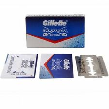 100 Pcs Gillette Wilkinson Sword Double Edge Safety Razor Blades