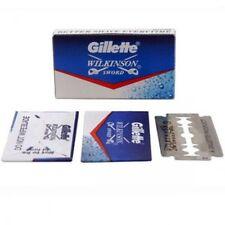 100 Pcs Gillette Wilkinson Sword Double Edge Safety Razor Blades