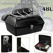 48L Universal Motorradkoffer Top Case Hecktasche Rollerkoffer Tasche 53x37x 27cm