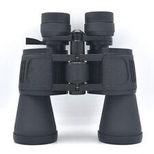 Black 10-30x50 Binoculars Long Range Zoom Lens Binoculars Hunting Telescope
