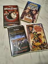 Vhs Disney random live action movies. Set of 4. Very Good condition.