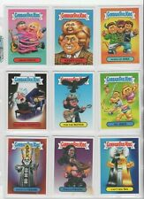 (LOT OF 9) GARBAGE PAIL KIDS STICKER Cards FROM TOPPS  2004 (VG) & UNOPENED PACK
