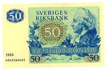 Sweden … P-53d … 50 Kronor … 1984 … *XF-AU*