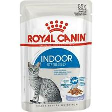 Royal Canin Indoor Sterilised In Jelly Wet Cat Food Tasty, Soft & Juicy 12 Pack