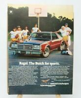 1977 BUICK Regal Vintage Automobile Magazine Print Ad The Buick for Sports