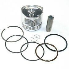 New Piston Set 56.5mm Rings Kit for Honda CG 125 XL125 CB125 JX125 Motorbikes