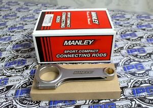 Manley H Beam Sportsman Connecting Rods For Mazda Miata 1.6L 1.8L B6 BP 14011-4