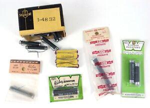 Lot of Vintage/NOS Globar Resistors Thermistors Etc. 22 Electronics Parts