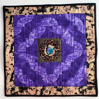 Handmade Quilt Wall Hanging Handmade Signed Dated Wanda E Tamasy Art #267