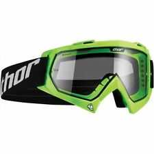 Thor Enemy Youth Kids Motocross MX Enduro Offroad Quad Goggles - Fluro Green